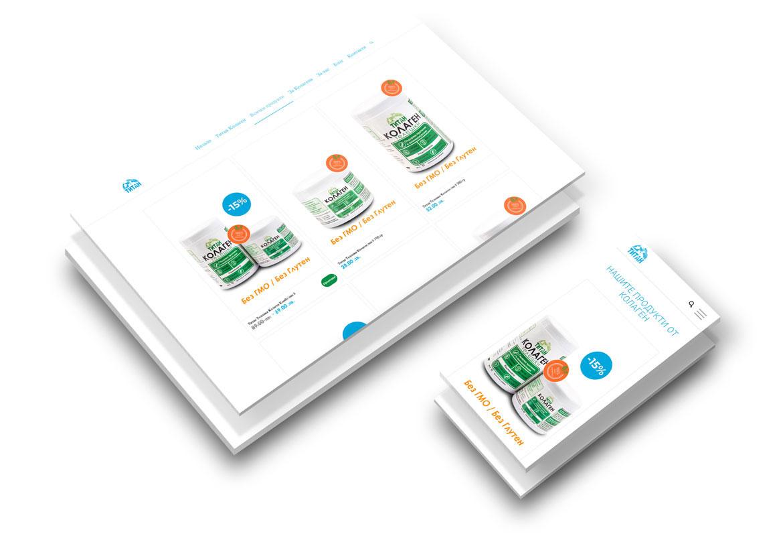 Изграждане на онлайн магазин за Титан Здраве