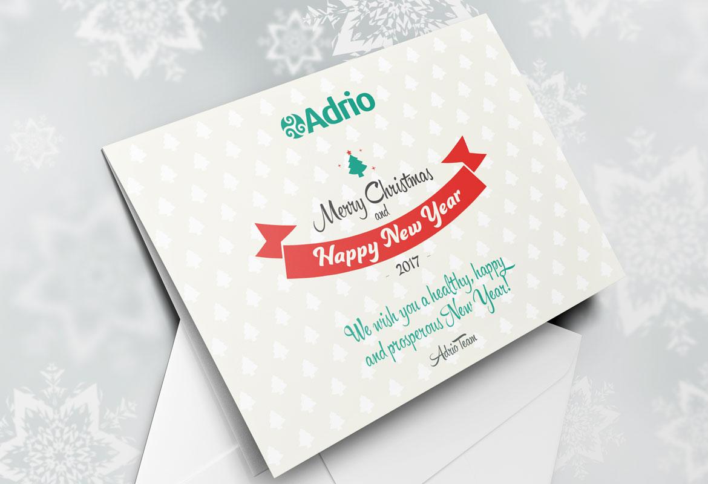 Дизайн на рекламни материали за Adrio Consulting
