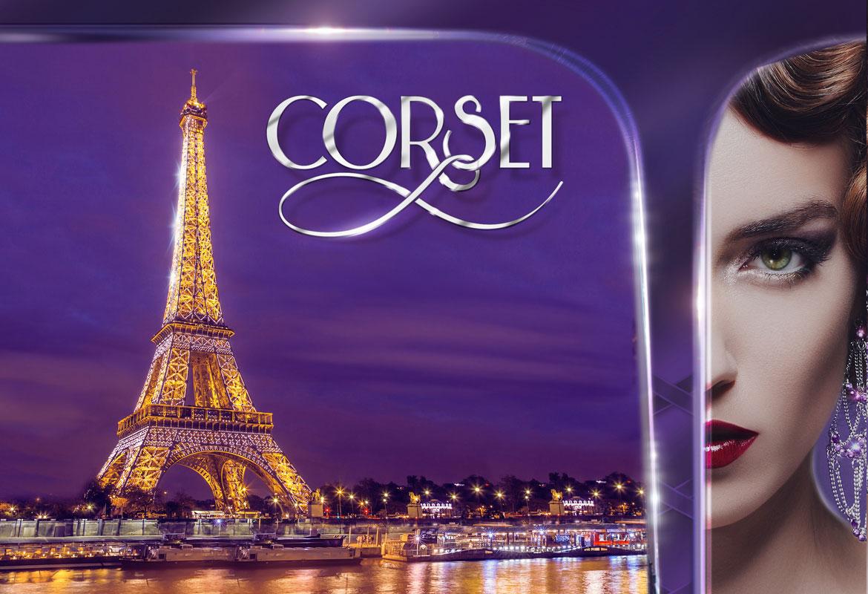 Национална външна рекламна кампнаия за Corset