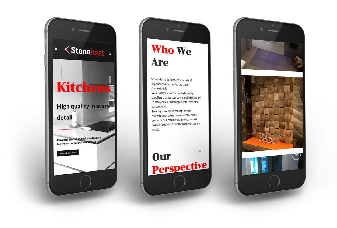 Изработка на уеб сайт за Stoneheat