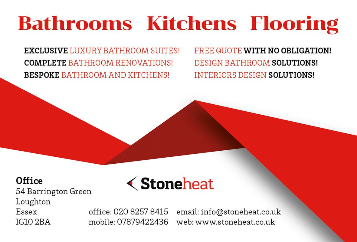 Лого дизайн за Stoneheat UK