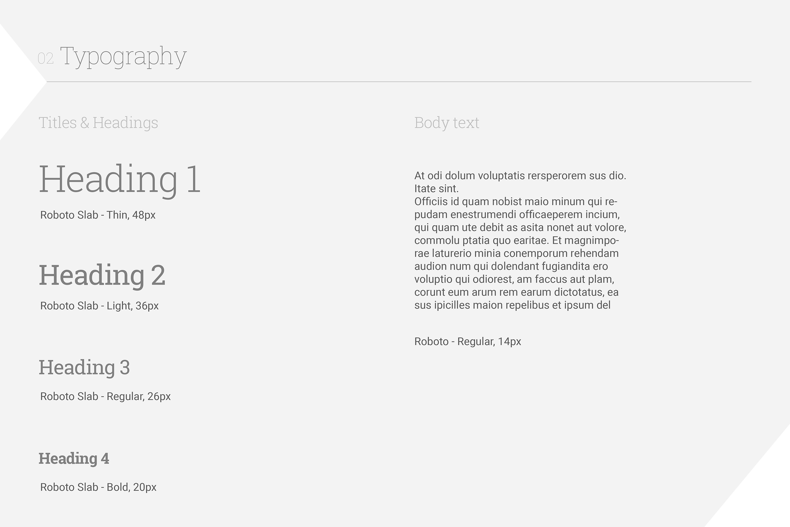 Типография - UX/UI дизайн за мобилното приложение на SlimBIte
